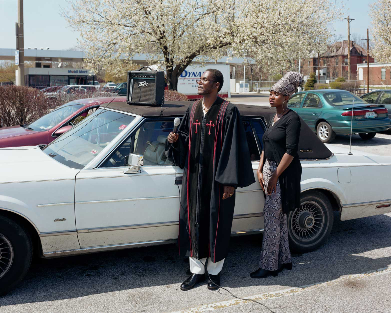 Reverend Cecil and Felica, St. Louis, MO, 2002